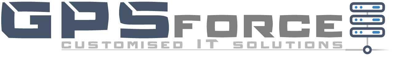 GPSforce Customised IT Solutions Logo