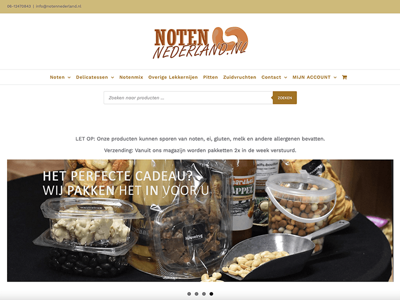 notennederland.nl website screenshot